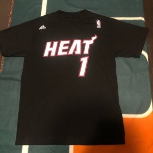 Adidas NBA Miami Heat tee sz M